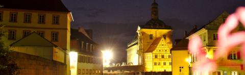 08 Rathaus in der Nacht © Ralf Saalmüller